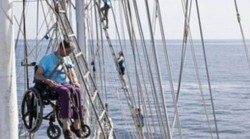 Tall Ship 'Lord Nelson' Sets Off Around the World