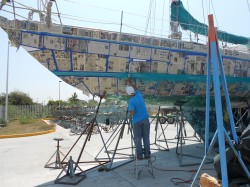 A Boat Refinishing Experience In San Blas, Mexico