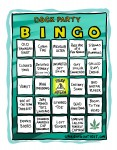 Dock Party Bingo