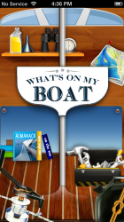 New App – What's On My Boat?