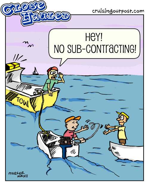 Subcontracting Sea Tow