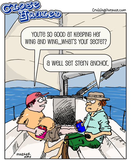 Sticky Retirement Wing 3 Cartoons Cruising Outpost