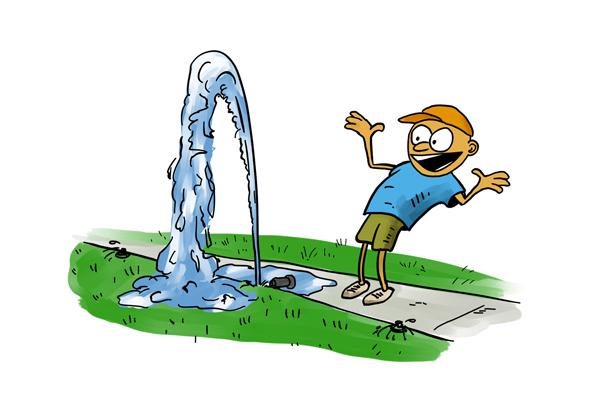 Sprinkler cartoon bing images