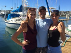 SAN DIEGO SAILOR LAUNCHES ADVENTURE, DESPITE CHALLENGES
