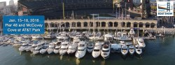 The 3rd Annual Progressive Insurance San Francisco Boat Show