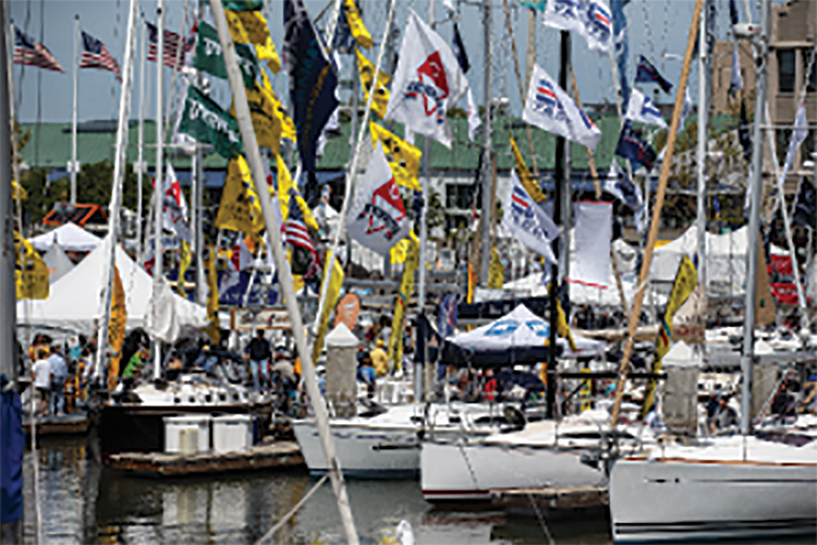 Pacific Strictly Sail Show – Cruisers' Party 2016
